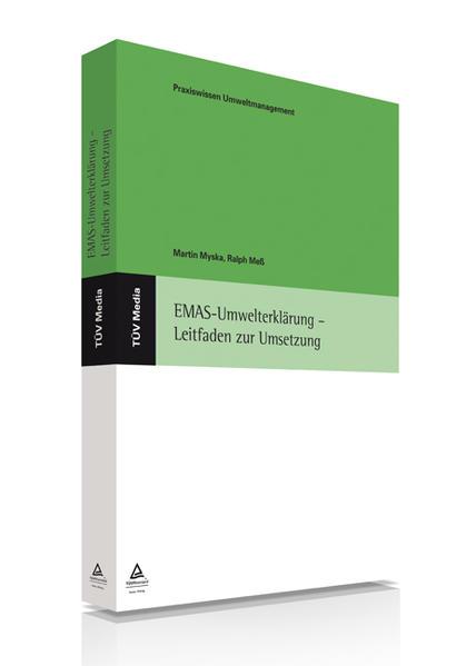 EMAS-Umwelterklärung - Leitfaden zur Umsetzung - Coverbild