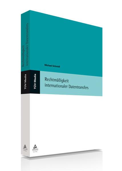 Rechtmäßigkeit internationaler Datentransfers (E-Book, PDF) - Coverbild