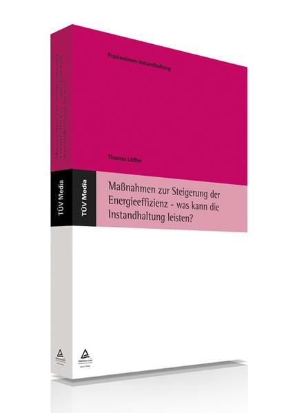 Maßnahmen zur Steigerung der Energieeffizienz - was kann die Instandhaltung leisten? (E-Book, PDF) - Coverbild
