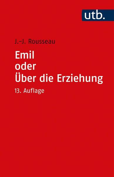 Emil oder Über die Erziehung - Coverbild