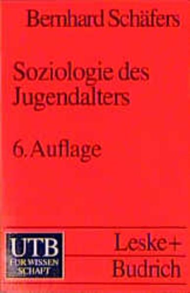 Soziologie des Jugendalters - Coverbild