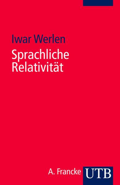 Sprachliche Relativität - Coverbild
