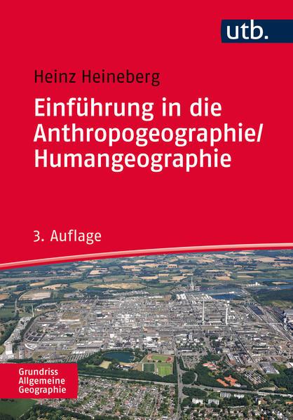 Einführung in die Anthropogeographie/Humangeographie - Coverbild