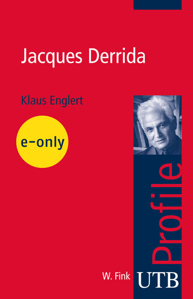 Jacques Derrida - Coverbild
