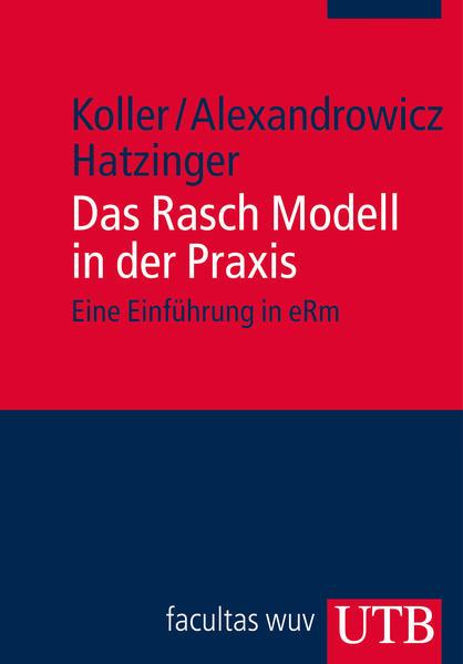 Das Rasch Modell in der Praxis - Coverbild