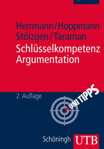 Schlüsselkompetenz Argumentation - Coverbild