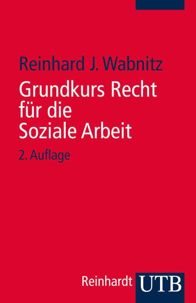 Grundkurs Recht für die Soziale Arbeit - Coverbild