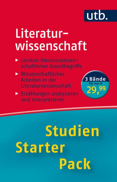 Studien-Starter-Pack Literaturwissenschaft - Coverbild
