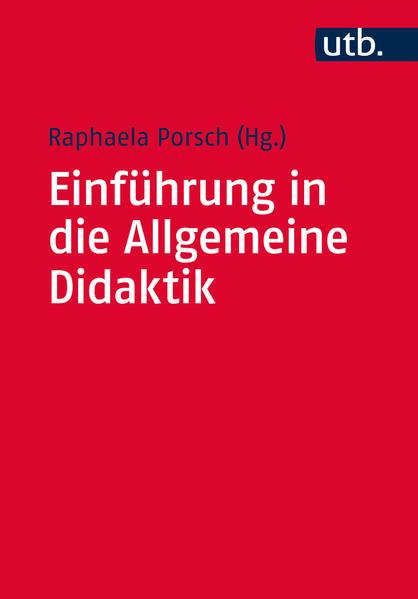 Einführung in die Allgemeine Didaktik - Coverbild