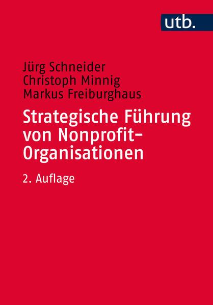 Strategische Führung von Nonprofit-Organisationen - Coverbild