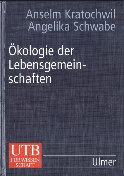 Ökologie der Lebensgemeinschaften - Coverbild