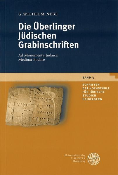Die Überlinger Jüdischen Grabinschriften von G Wilhelm Nebe PDF Download