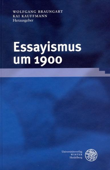 Free Epub Essayismus um 1900