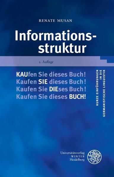 Informationsstruktur - Coverbild