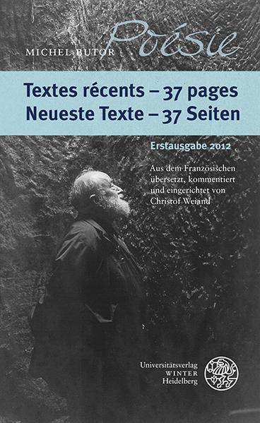 Textes récents - 37 pages/Neueste Texte - 37 Seiten - Coverbild