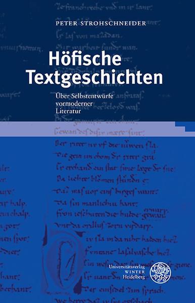 Höfische Textgeschichten - Coverbild
