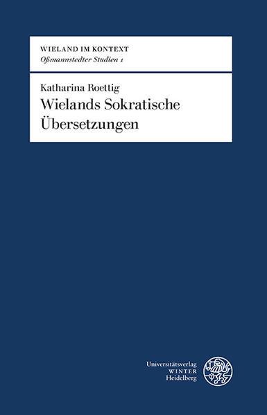 Wielands sokratische Übersetzungen - Coverbild
