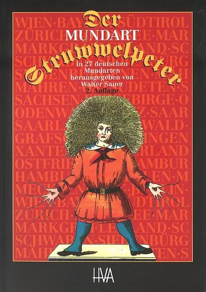 Der Mundart-Struwwelpeter in 27 deutschen Mundarten - Coverbild