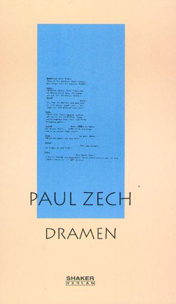 Download Ausgewählte Werke / Paul Zech - Dramen Epub Kostenlos