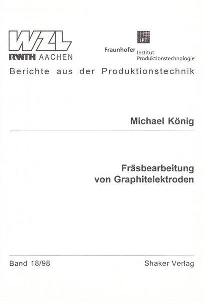 Fräsbearbeitung von Graphitelektroden - Coverbild