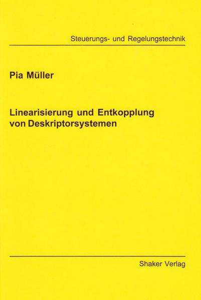 Linearisierung und Entkopplung von Deskriptorsystemen - Coverbild