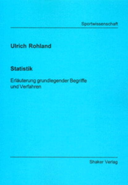 Statistik - Coverbild