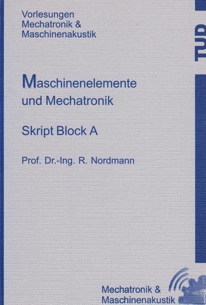 Maschinenelemente und Mechatronik - Coverbild