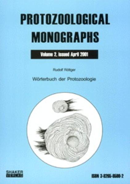 Wörterbuch der Protozoologie - Coverbild