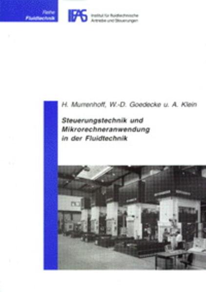 Steuerungstechnik und Mikrorechneranwendung in der Fluidtechnik - Coverbild