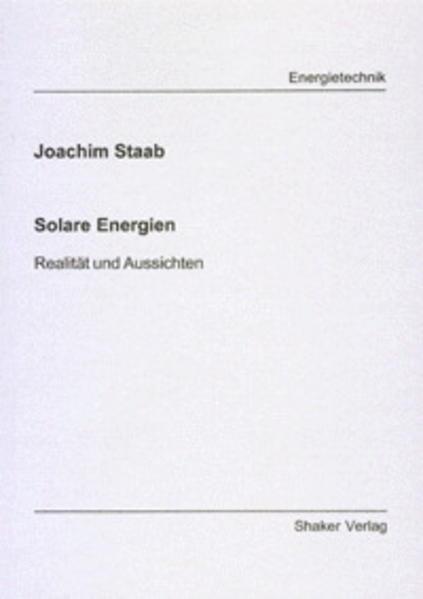 Solare Energien - Coverbild