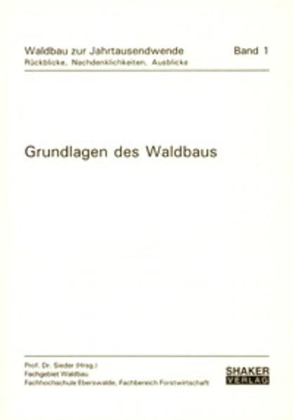 Download Grundlagen des Waldbaus Epub Kostenlos