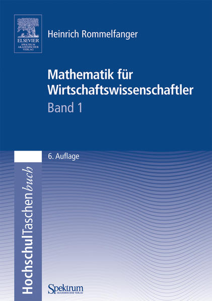 Mathematik für Wirtschaftswissenschaftler I - Coverbild