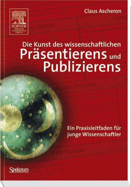 Die Kunst des wissenschaftlichen Präsentierens und Publizierens - Coverbild