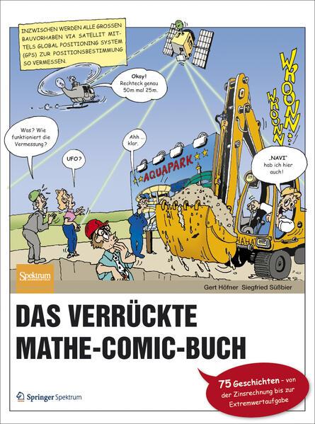 Das verrückte Mathe-Comic-Buch - Coverbild