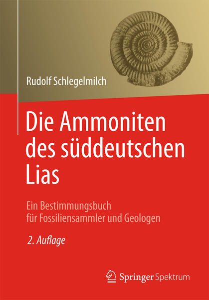 Die Ammoniten des süddeutschen Lias - Coverbild