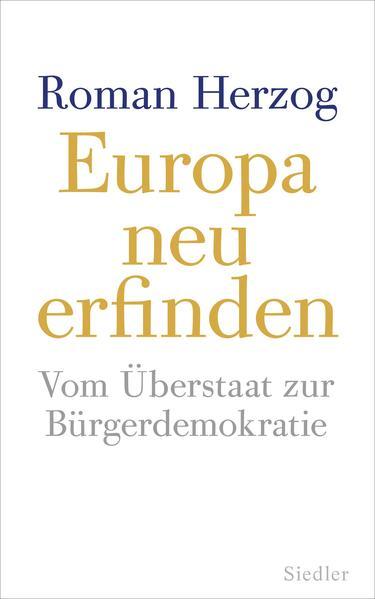 Europa neu erfinden - Coverbild