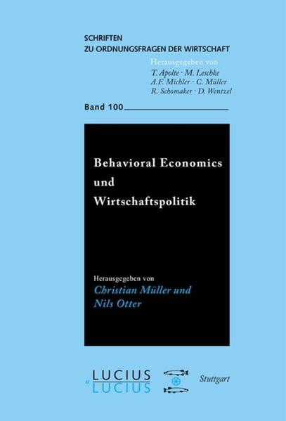 Behavioral Economics und Wirtschaftspolitik - Coverbild