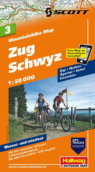 Herunterladen Zug-Schwyz, 1:50 000 Epub