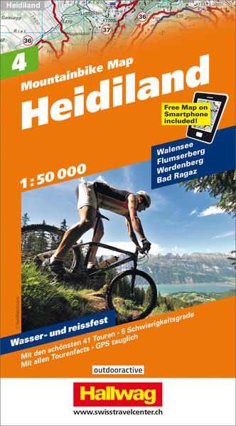 Heidiland, 1:50 000 - Coverbild