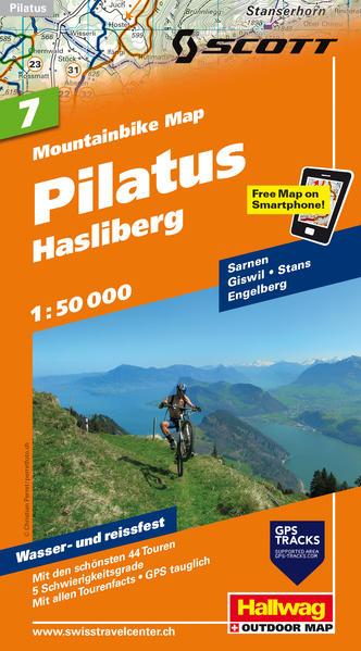 Pilatus-Hasliberg, 1:50 000 - Coverbild