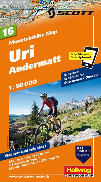 Uri, Andermatt 1:50 000 - Coverbild