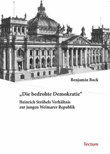 """""""Die bedrohte Demokratie"""" - Coverbild"""