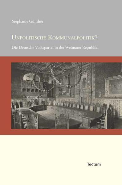 Unpolitische Kommunalpolitik? - Coverbild