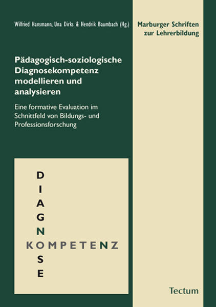 Pädagogisch-soziologische Diagnosekompetenz modellieren und analysieren - Coverbild