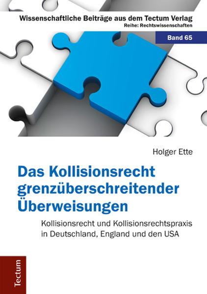 Das Kollisionsrecht grenzüberschreitender Überweisungen - Coverbild