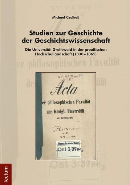 Studien zur Geschichte der Geschichtswissenschaft - Coverbild