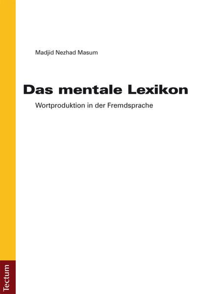 Das mentale Lexikon - Coverbild