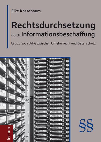 Rechtsdurchsetzung durch Informationsbeschaffung - Coverbild