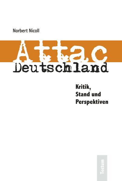 Attac Deutschland - Coverbild