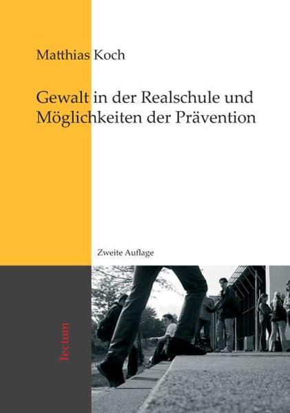 Gewalt in der Realschule und Möglichkeiten der Prävention - Coverbild